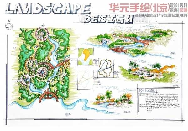 景观园林快题方案设计课程(c班)