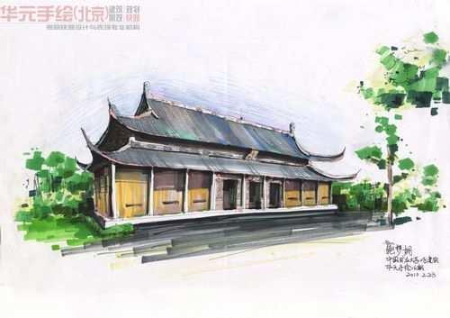 手绘作品-华元手绘官网|手绘培训|景观快题培训|考研