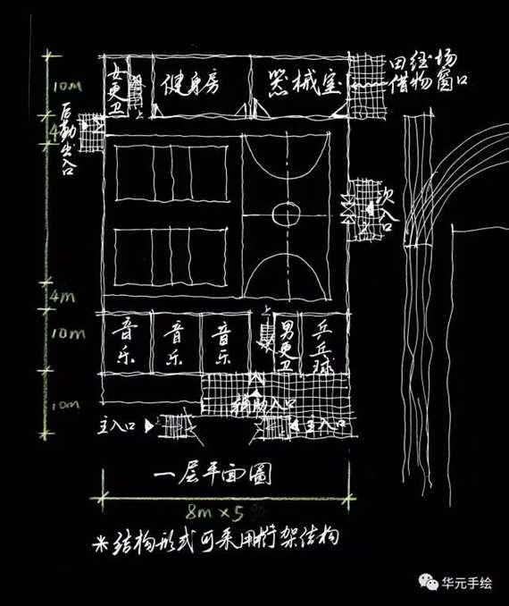 中学电路施工图